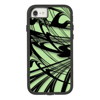 Black and Green Fern Glen Case-Mate Tough Extreme iPhone 8/7 Case