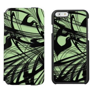 Black and Green Fern Glen Incipio Watson™ iPhone 6 Wallet Case