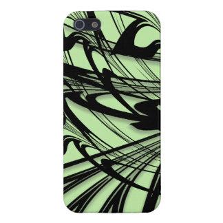 Black and Green Fern Glen iPhone 5/5S Case