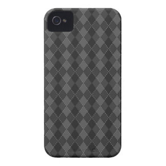 Black and grey argyle pattern BlackBerry Bold case