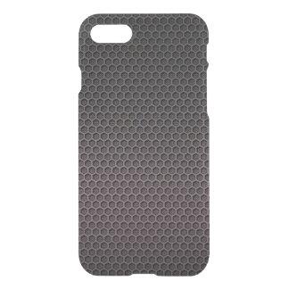 Black and Grey Hexagonal Carbon Fiber Polymer iPhone 8/7 Case