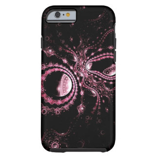 Black and Hot Pink Chic iPhone 6 case Tough iPhone 6 Case