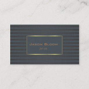 Navy blue business cards profile cards zazzle ca black and navy blue business card colourmoves