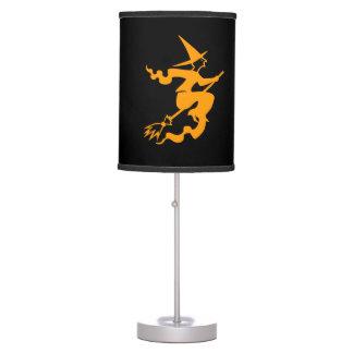 Black and orange Halloween decoration   Scary lamp