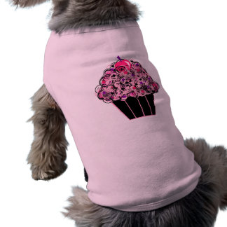 Black and Pink Cupcake Shirt