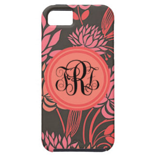 Black and pink floral for iPhone, Samsung, and BB iPhone 5 Cover