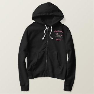 Black and Pink Uni Hoodie