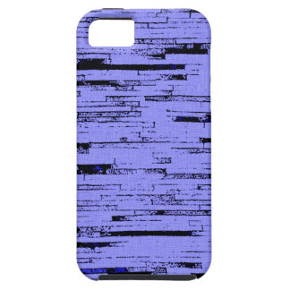 Black and purple lines art old wall bricks pattern iPhone 5 case