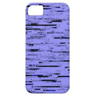 Black and purple lines art old wall bricks pattern iPhone 5 cases