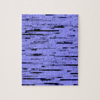 Black and purple lines art old wall bricks pattern jigsaw puzzle