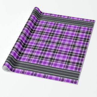 Black and Purple - Tartan
