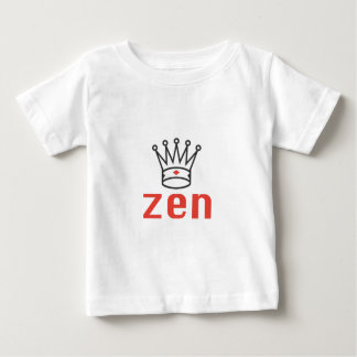 BLACK AND RED KING ZEN MEDITATION AND INTUITION BABY T-Shirt