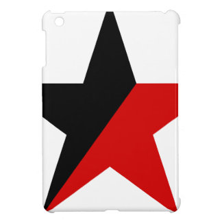 Black and Red Star Anarcho-Syndicalism Anarchism iPad Mini Cover