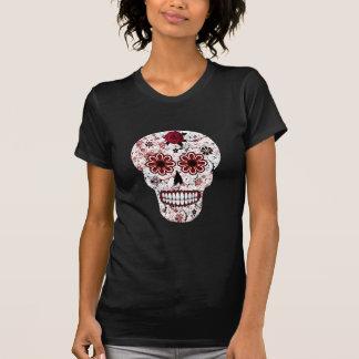 Black And Red Sugar Skull Shirt
