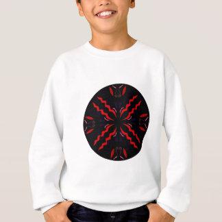 Black and red Vintage mandala Sweatshirt