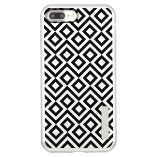 Black and Silver Meander iPhone 8 Plus/7 Plus Case