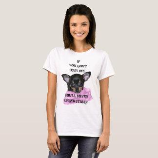 Black and Tan Chihuahua Puppy T-Shirt