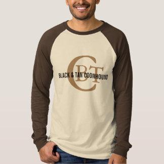 Black and Tan Coonhound Breed Monogram Shirt