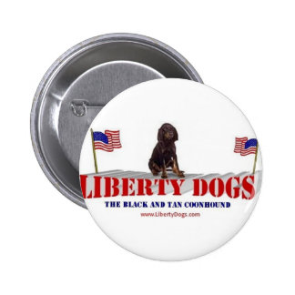 Black and Tan Coonhound Buttons