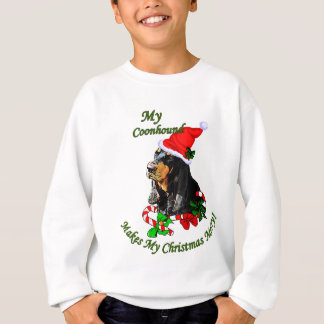 Black and Tan Coonhound Christmas Gifts Tshirt