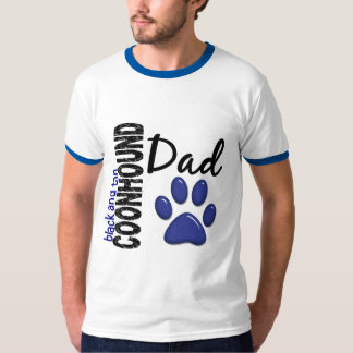 Black And Tan Coonhound Dad 2 T-Shirt