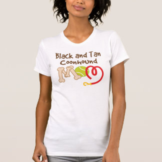 Black and Tan Coonhound Dog Breed Mom Gift T-Shirt