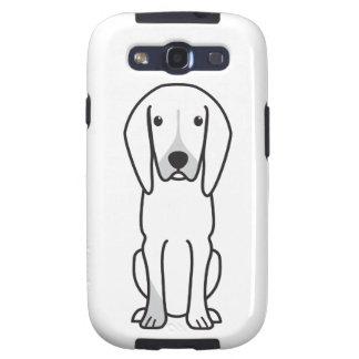 Black and Tan Coonhound Dog Cartoon Samsung Galaxy S3 Covers