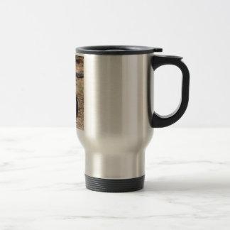 Black and Tan Coonhound Dog Travel Mug