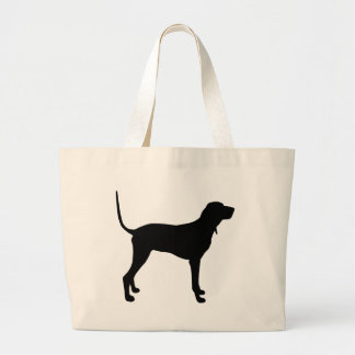Black and Tan Coonhound Gear Jumbo Tote Bag