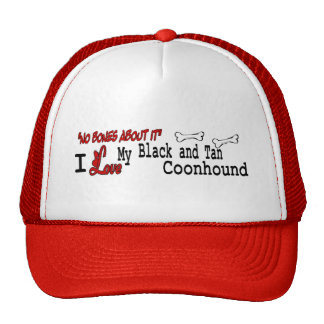 Black and Tan Coonhound Gifts Mesh Hats