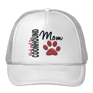 Black And Tan Coonhound Mom 2 Mesh Hats