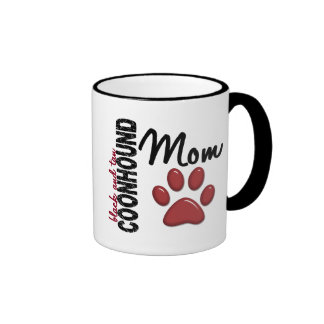 Black And Tan Coonhound Mom 2 Coffee Mug