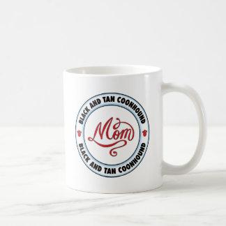 BLACK AND TAN COONHOUND mom Coffee Mug