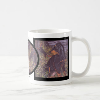 Black and Tan Coonhound Puppy Dreamer Mug