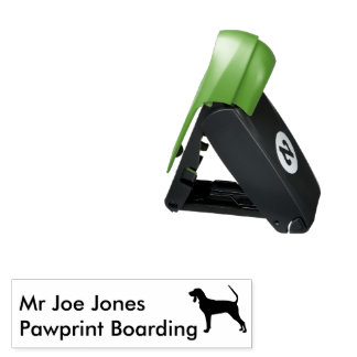 Black and Tan Coonhound - [self-inking] Pocket Stamp