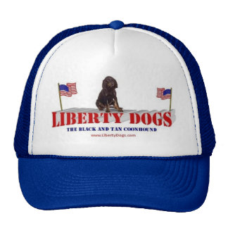 Black and Tan Coonhound Trucker Hat