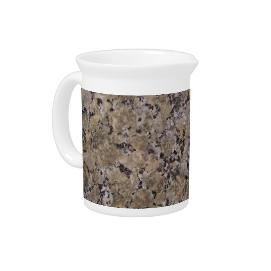 Black and Tan Granite Drink Pitcher