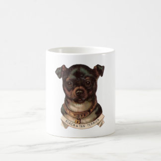 Black and Tan Terrier Coffee Mug