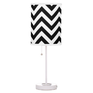 Black and White Abajur Desk Lamps