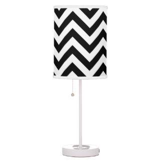 Black and White Abajur Table Lamp