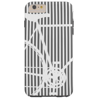 Black and white Abstract Bicycle iPhone 6 Case