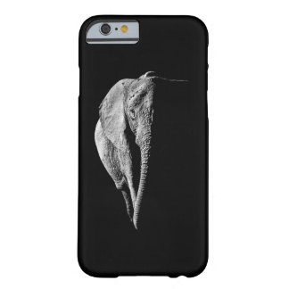 Black and white African Elephant portrait Barely There iPhone 6 Case
