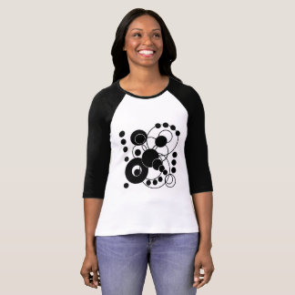 Black and White Artsy Abstract T-Shirt