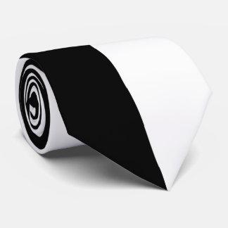 Black and White Automobile Tie