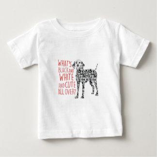 Black And White Baby T-Shirt