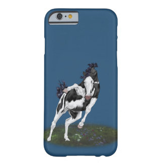 Black and White Bald Face Overo Paint Horse Barely There iPhone 6 Case