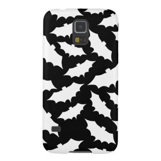 Black and White Bat Pattern. Galaxy S5 Cases