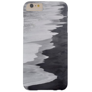 Black and white beach scenic barely there iPhone 6 plus case