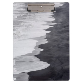 Black and white beach scenic clipboards