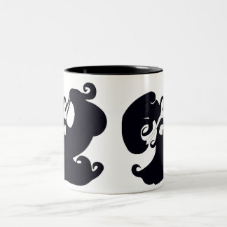 Black And White Belly Dancers Mug